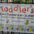 Outside Sign Easington Colliery Toddler Group
