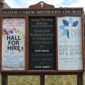 Outside Sign Seaton Carew Methodist Church photo taken 2018